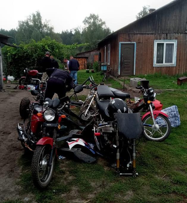 Троє чоловіків з Сокальщини накрали мотоциклів на 12 років тюрми