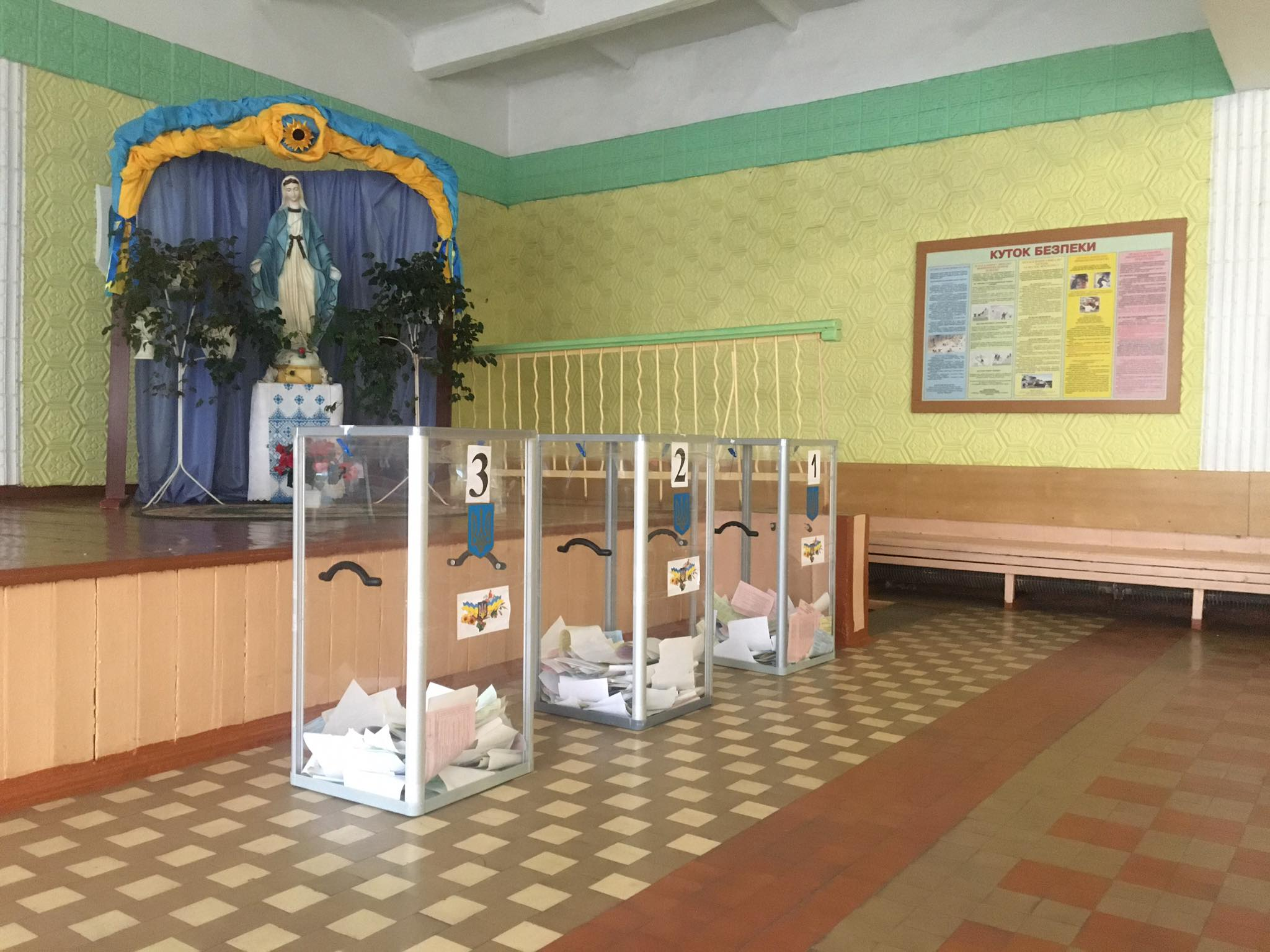 Як у Червонограді пройшов день місцевих виборів?