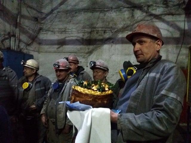 """Прохідники шахти """"ВІДРОДЖЕННЯ"""" завершили виробничий рік"""