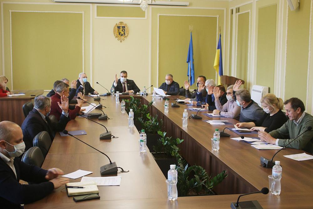19 листопада – позачергова сесія Львівської обласної ради