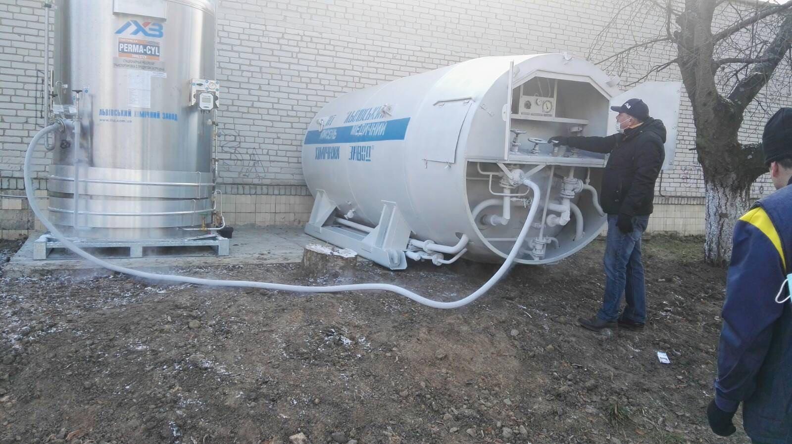 Сокальська ЦРЛ отримала нову кисневу станцію