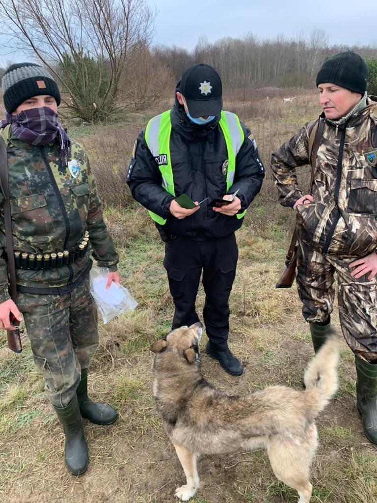 Сокальські мисливці порушили правила полювання