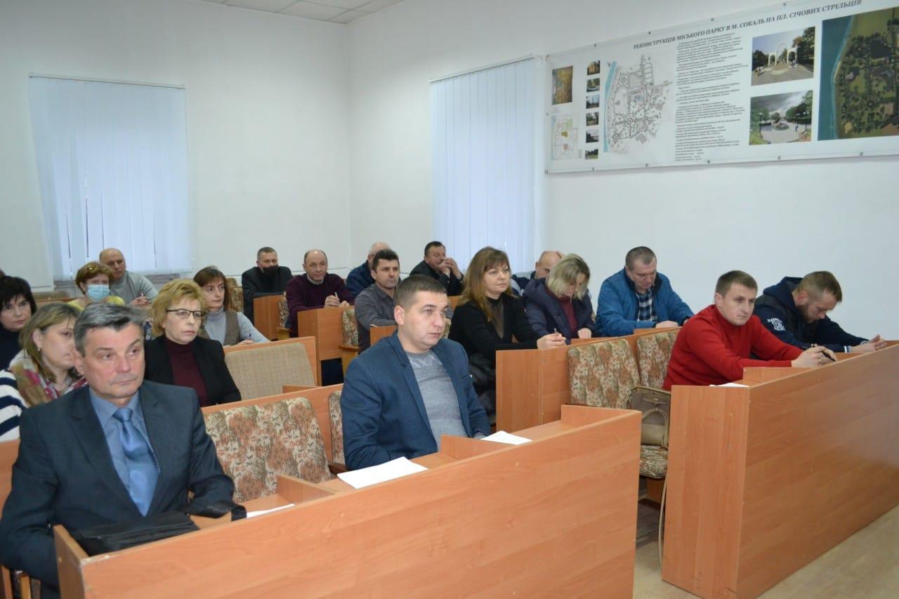У Сокальській міській раді провели навчання для старост