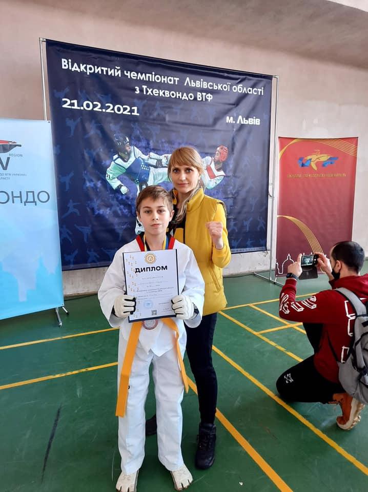 Червоноградські спортсмени здобули на чемпіонаті з тхеквондо 10 медалей