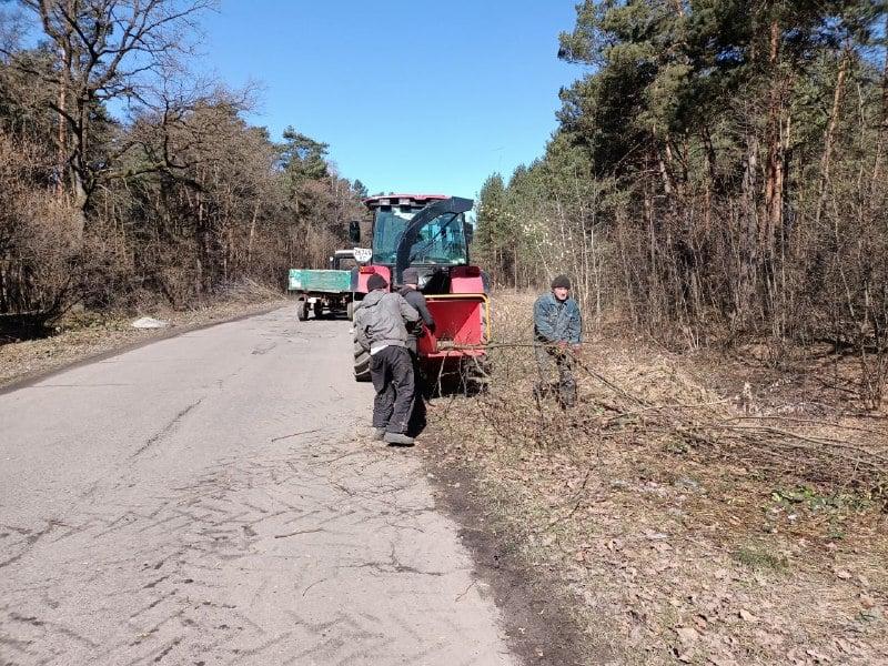 У Волсвині готують дорогу до ремонту