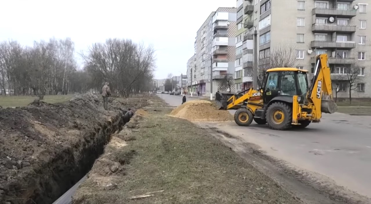 В Червонограді по вул.Сокальській замінено 300 метрів водопроводу