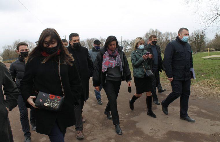 Червоноград відвідала голова Львівської обласної ради Ірина Гримак