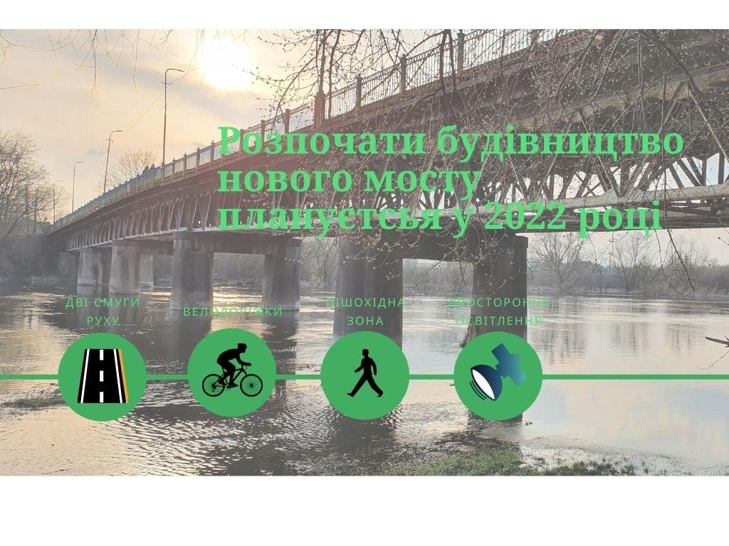 Жвирківський міст через р.Західний Буг почнуть будувати в 2022 році паралельно до теперішнього аварійного