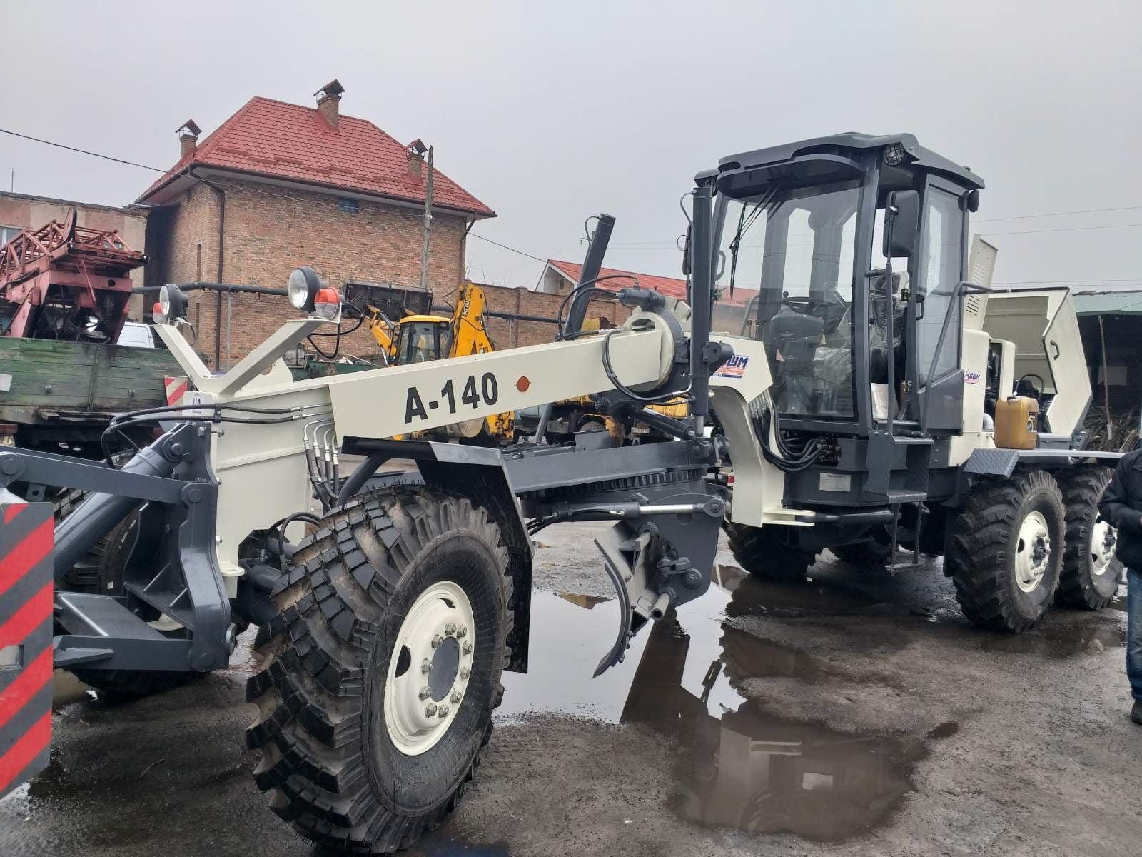 """У Червоноградському КП """"Комунальник"""" новий автогрейдер"""