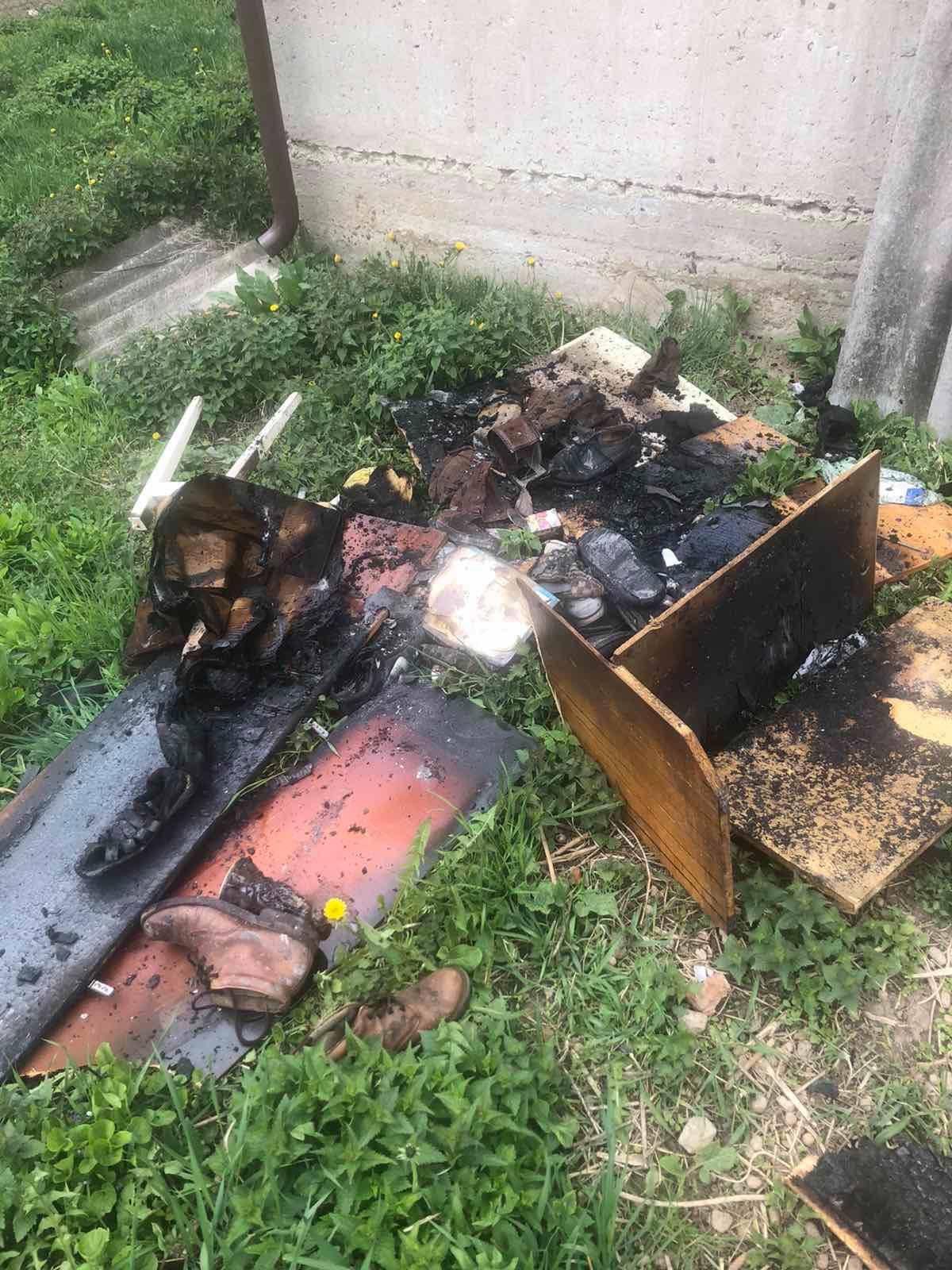 У селі Поториця, що біля Сокаля, пожежники врятували від знищення вогнем житловий будинок