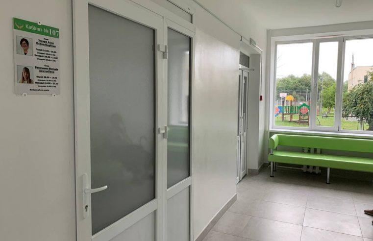 В Центрі первинної медико-санітарної допомоги м. Червоноград оновлено другу частину першого поверху