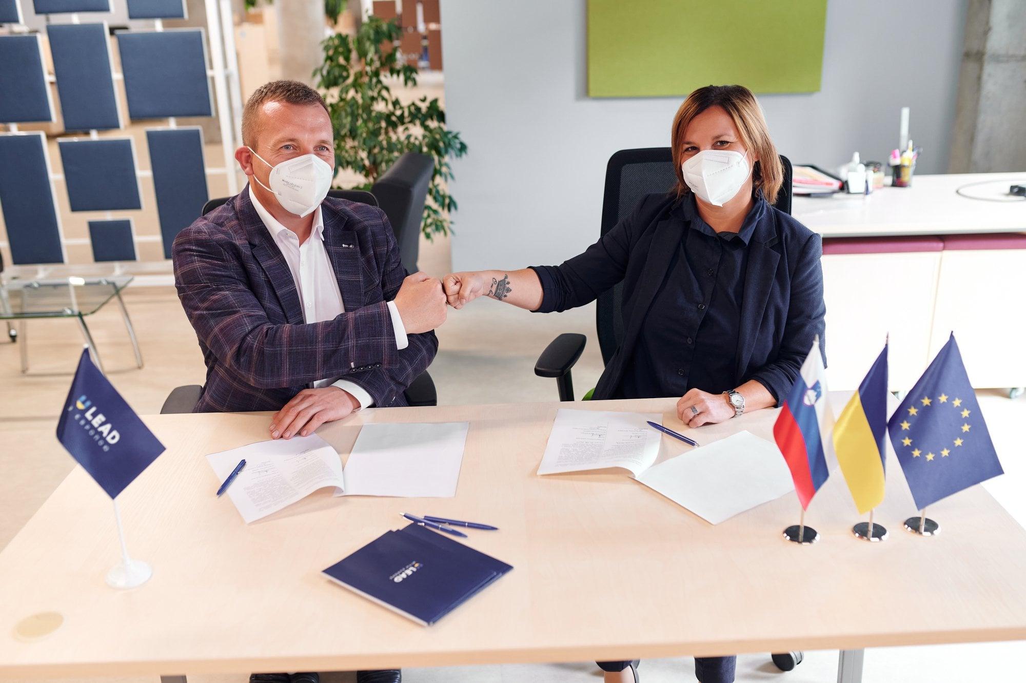 Червоноградська громада розвиває співпрацю з муніципалітетом із Словенії
