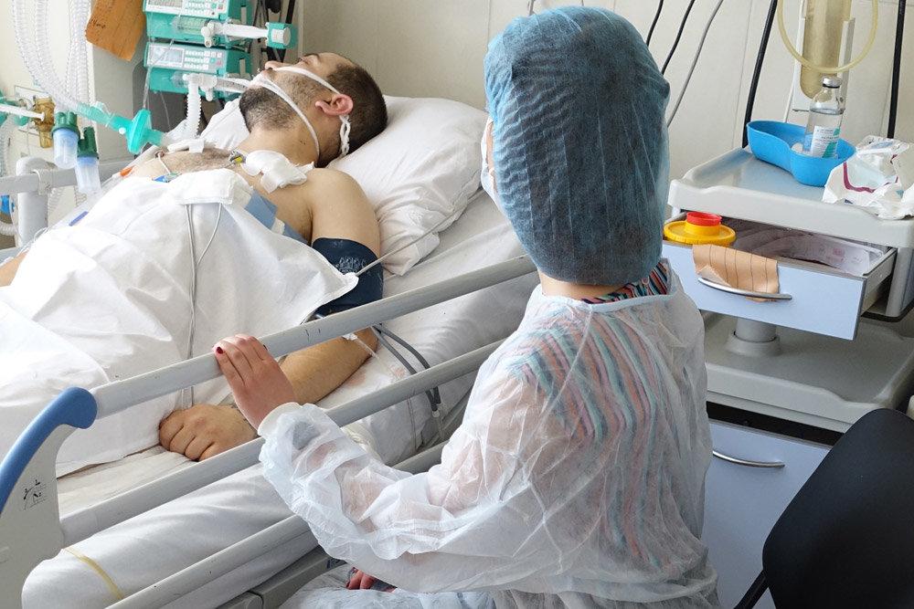 У ковідному відділенні Сокальської лікарні перебуває 65 хворих, за останню добу троє померло